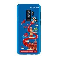 Силиконовый чехол ЧМ по футболу для Samsung Galaxy S9+ Plus Калиниград - Deppa FIFA™ Kaliningrad