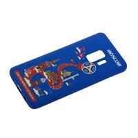 Силиконовый чехол для Samsung Galaxy S9 ЧМ по футболу Москва - Deppa FIFA™ Moscow