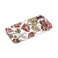 Силиконовый чехол для iPhone X 10 со стразами рисунок цветы - Beckberg Surpassingly Beautiful Series Flowers