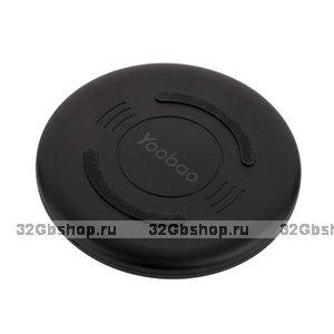 Черная беспроводная зарядка для iPhone X / Xs / 8 - Yoobao Wireless Charging Black 5V-1A