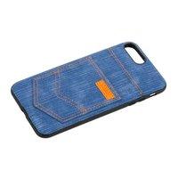 Чехол XOOMZ для iPhone 8 Plus / 7 Plus Pocket PU Back Cover джинсовый Голубой