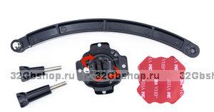 Крепеж для камеры на шлем - каску Xiaomi yi GoPro Hero 5 4 3 3 + 2 Sjcam SJ4000
