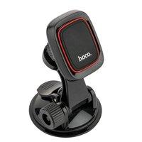 Автомобильный держатель Hoco Happy journey series suction cup magnetic holder магнитный универсальный с присоской черный