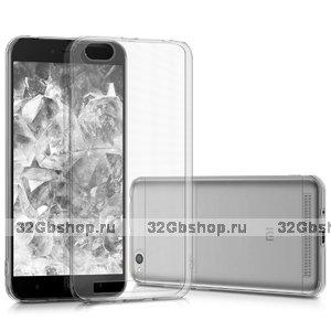 Прозрачный силиконовый чехол для Xiaomi Redmi 5A