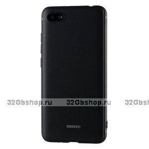 Черный силиконовый чехол для Xiaomi Redmi 6A