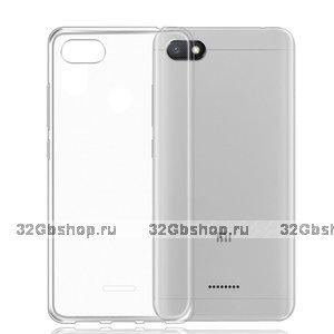 Прозрачный силиконовый чехол для Xiaomi Redmi 6A