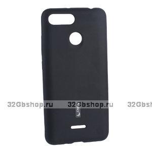 Черный силиконовый чехол для Xiaomi Redmi 6 - Cherry Matte TPU Case Black