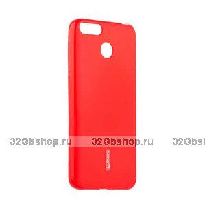 Красный силиконовый чехол для Xiaomi Redmi 6 - Cherry Matte TPU Case Red