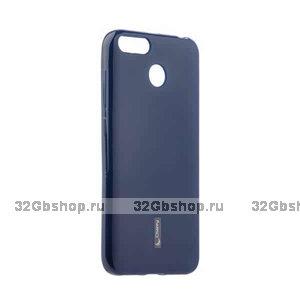 Синий силиконовый чехол для Xiaomi Redmi 6 - Cherry Matte TPU Case Blue