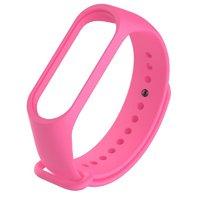 Розовый силиконовый браслет для Xiaomi Mi Band 3