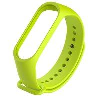 Зеленый силиконовый браслет для Xiaomi Mi Band 3