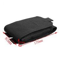 Черный чехол подсумок для для iPhone 7 Plus / 8 Plus крепление молли и на ремень Cordura