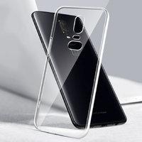 Прозрачный силиконовый чехол для OnePlus 6 усиленные углы
