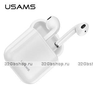 Беспроводные наушники гарнитура USAMS F10 LC Series