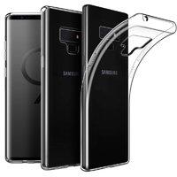 Прозрачный силиконовый чехол для Samsung Galaxy Note 9