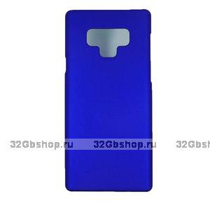 Синий пластиковый чехол для Samsung Galaxy Note 9