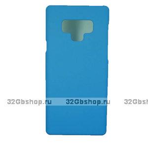 Голубой пластиковый чехол для Samsung Galaxy Note 9