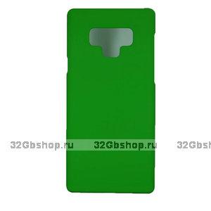 Зеленый пластиковый чехол для Samsung Galaxy Note 9