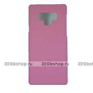 Розовый пластиковый чехол для Samsung Galaxy Note 9