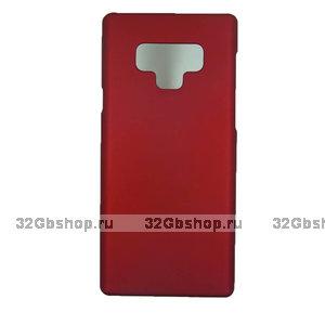 Красный пластиковый чехол для Samsung Galaxy Note 9