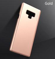 Пластиковый чехол для Samsung Galaxy Note 9 розовое-золото