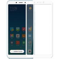 Защитное стекло для Xiaomi Redmi 6A с белой рамкой