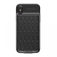 Чехол-аккумулятор Baseus Plaid Backpack Power Bank Case 3500 mAh для iPhone X черный
