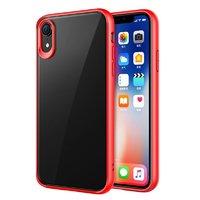 Силиконовый чехол красный бампер для iPhone XR