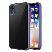 Силиконовый чехол синий бампер для iPhone XR