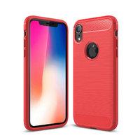 Красный защитный силиконовый чехол для iPhone XR