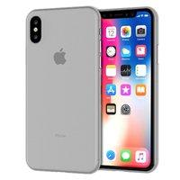 Серый тонкий пластиковый чехол для iPhone XS 6.5 Max
