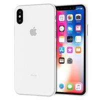 Белый тонкий пластиковый чехол для iPhone XS Max 6.5