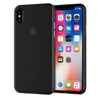 Черный тонкий пластиковый чехол для iPhone XS Max 6.5