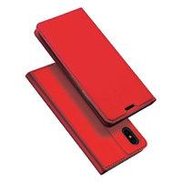 Красный чехол книжка для iPhone XS Max 6.5