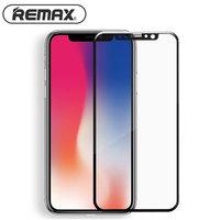 Защитное стекло для iPhone XS Max 6.5 - Remax 3D GL-27 9H Tempered Glass 0.3mm Black