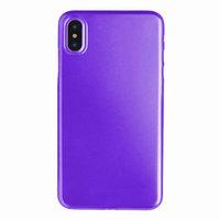 Фиолетовый пластиковый чехол для iPhone XS Max 6.5