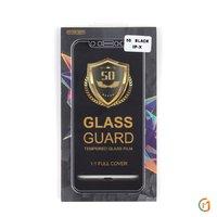 Защитное 5D стекло на полный экран для iPhone XS Max 6.5 с черной рамкой