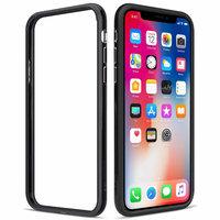 Черный пластиковый бампер для iPhone XS Max 6.5