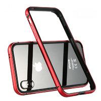 Красный алюминиевый бампер для iPhone XS Max 6.5