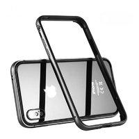 Черный металлический бампер для iPhone XS Max 6.5