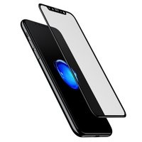 "Стекло защитное для iPhone XS Max (6.5"") - Baseus 3D Pet Soft Tempered Glass 0.23mm Black"