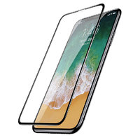 "Стекло защитное для iPhone XS Max (6.5"") - Baseus 3D Rigid Edge Curved Screen Tempered Glass 0.20mm Black"