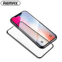 Защитное стекло для iPhone XS Max 6.5 с тонкой черной рамкой - Remax 9D GL-32 Emperor Series 0.3mm Black