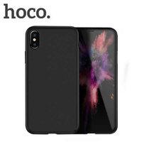Черный силиконовый чехол для iPhone XS Max 6.5 - Hoco Fascination Series Black