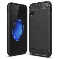 Черный защитный силиконовый чехол для iPhone XS Max 6.5