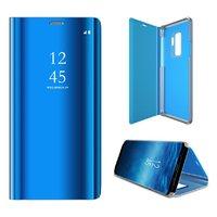 Синий чехол книжка-подставка для Samsung Galaxy Note 9
