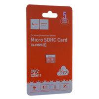 Карта памяти Hoco micro SDHC Card 16Gb Class10