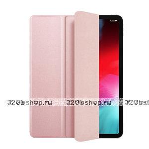 """Розовый двусторонний чехол обложка для Apple iPad Pro 11"""" 2018 - Smart Folio Pink"""
