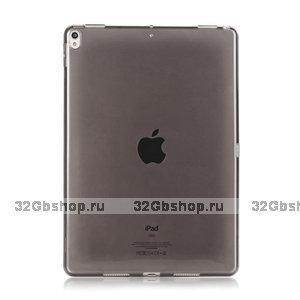 """Черный прозрачный силиконовый чехол для iPad Pro 11"""""""