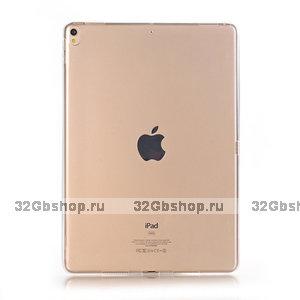 """Золотой прозрачный силиконовый чехол для iPad Pro 11"""""""